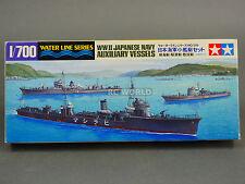 Tamiya 1/700 Japanese Navy Auxiliary Vessel Water Line Model Ship Kit #d3