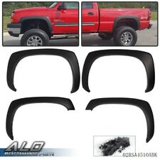 Fit For Gmc Sierra Chevy Silverado 99 06 Matte Factory Style Fender Flares Fits More Than One Vehicle