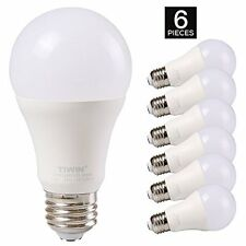 TIWIN A19 E26 LED Light Bulbs 100 watt equivalent 11W, Daylight 5000K,1100lm, of