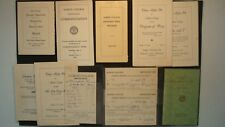 Massive ALBION COLLEGE 1930's Collection Registration Tuition Theta Alpha Phi ++