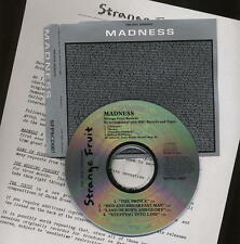 MADNESS - PEEL SESSIONS UK CD SINGLE WITH PRESS SHEET - SUGGS SKA TWO 2 TONE