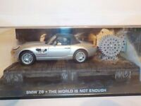 Model CarBMW Z8 WORLD NOT ENOUGH Diecast Model Car from James Bond  1/43 Scale