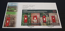 18th Aug 2009 Post Boxes First Day Cover SHS (B89)