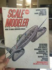 Scale Modeler July 1972 Volume 7 Number 7  Magazine*