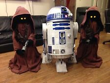Life Size Star Wars R2D2 and Jawas Full Size Props R2-D2 Jawa