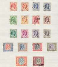 Rhodesia and Nyasaland 1954 fine used, will be removed from page.