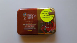 Panini Adrenalyn XL FIFA World Cup Russia 2018 - Collector's Tin 30 +1 Limited