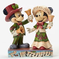 Disney*VICTORIAN MICKEY & MINNIE*Jim Shore*NEW*NIB*Ringing In Holidays*4051976