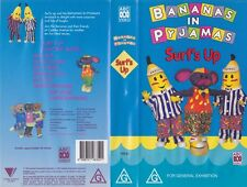 BANANAS IN PYJAMAS SURFS UP VHS VIDEO PAL~ A RARE FIND