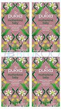 Pukka motherkind Baby tea - 20 Intercalaires (Pack de 4)