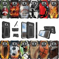For Samsung Galaxy Note 8 SM-N950 Shockproof Dual Layer Bumper Cover -Sports