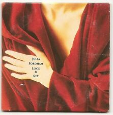 "JULIA FORDHAM LOCK AND KEY + HOME + ISLAND 3TRACK 3"" CD SINGLE 1989 EX CONDITION"
