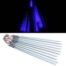 10xTubes String 50cm 3528 Blue 60SMD Meteor Shower Rain LED Light Party Lamp 12V