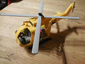 Playmobil ADAC Hubschrauber, Helikopter, Rettungsheli, gelbe Engel Kinder Jungen