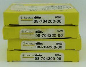 4 x GOETZE 0870420000 - STD Piston Ring Sets FITS BMW M40 E36 M42 - 1.8L 4 Cyl