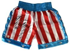Sylvester Stallone Italian Stallion Rocky Balboa Autographed Trunks ASI Proof