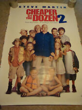 CHEAPER BY THE DOZEN 2 - MOVIE BANNER WITH STEVE MARTIN, BONNIE HUNT, HILARY DUF
