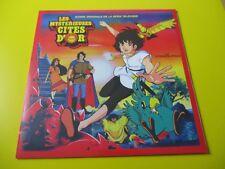 les mystérieuses cités d or bof lp 33 tours manga city of gold soundtrack neuf