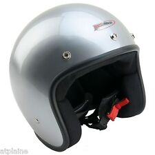 CASQUE JET Homologué ABS - Silver - Taille XL