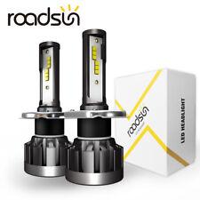 2pcs CSP H4 9003 HB2 LED Headlight Kit 400W 96000LM High Beam 6000K Light Bulb