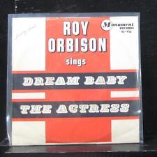 """Roy Orbison - Dream Baby (How Long Must I Dream) 7"""" VG+ 45-456 Vinyl 45"""