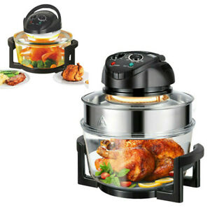 12L Extend 17L Electric Multi-function Air Fryer Oven Timer Fast Cook Fat-Free