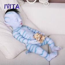63cm Lifelike Root Hair and Skeleton Avater Silicone Reborn Boys Doll Popular