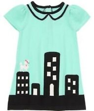 Gymboree NWT Girls Posh and Playful Poodle City Sweater Dress Size 12-18 M