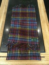 COLOURFUL HIGHLANDER SCARF / (BY LOCHARRON) USED BARELY / GOOD CONDITION