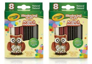 Crayola Modeling Clay, Assorted Classic Natural Colors, 16-Count, Gift for Kids