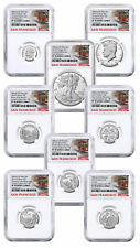8 Coin 2019S US Limited Edition Silver NGC PF70 UC FR Cable Car SKU59514