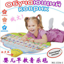 73*49cm Musical Mat Touch Blanket Musical Learning Russian Carpet for Kids Baby
