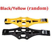 Non-slip chain Black/Yellow Safety Tire Wheel Anti-skid Snow Chain Belt Chains