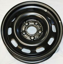 "NEW GENUINE MERCEDES A CLASS W168 15"" 5.5J x 15H2 STEEL WHEEL BLACK A1684000702"