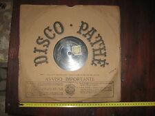 Disco primi '900 - 100 Giri Pathè in Bachelite - classica ROSSINI