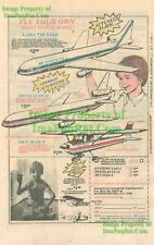 Tri Star, Douglas DC10, Sky Scout: Model Print Ad #1