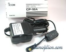 NEW ICOM CP-18A Cigarette Lighter w/filter for IC-R3 IC-RX7 IC-R5 IC-R6 IC-R20