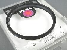 B + W 72e 010 MC UV-H (Haze), einschraubanschluss 72mm, S. G. zustd., top in vetro + dos