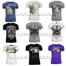 Herren Freizeit Sport T-Shirt Clubwear und Fitness  Gr.S-XXL