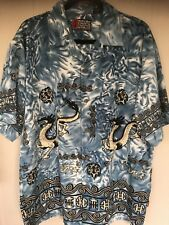 "Pineapple Connection Mystic Origins Men's ""Asian Dragon"" Polyester Shirt Size XL"