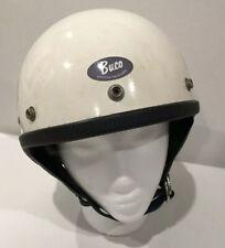 Vintage Buco Protector Helmet / Original Cloth Lining