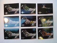 Babylon 5 Season 4 Trading Cards Starfury Aviation Art Chase Cards V1-9