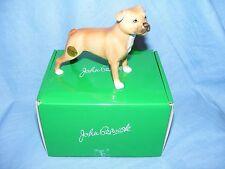 John Beswick Perro Staffordshire Bull Terrier Rojo JBD92 nueva estatuilla En Caja
