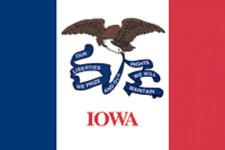 Rumbling Pride Iowa Flag 6X9 Made In Usa