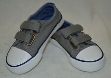 Tommy Hilfiger Toddler Boy's Cormac HL Grey Canvas Sneaker - Size 6 NWB
