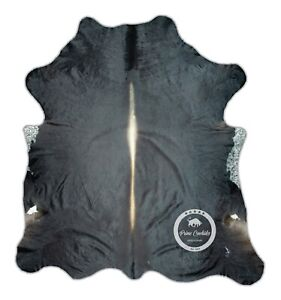 Cowhide Rug - Exotic High Quality Hair on Hide Size: Large (L) F74