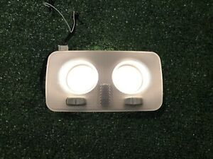 12-16 FIAT 500 UPPER OVERHEAD ROOF DOME LIGHT LAMP 735244963 OEM TESTED!