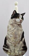 Black & White Cat Kitchen Roll / Toilet Roll Holder - C13