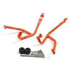Orange Frame Crash Bars Guard Protector Crashbars For KTM DUKE 390 AU