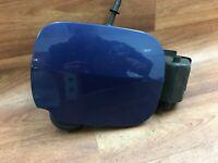 Renault Clio 3 fuel flap hinge + cap + cover blue 2005-2009 8200383466